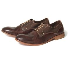 Sampson brown oxfords by Hudson.