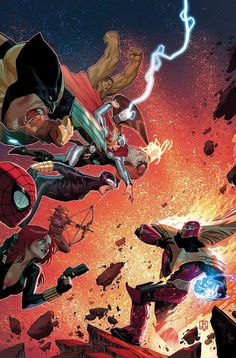 What If? Avengers vs X-Men by Jorge Molina *