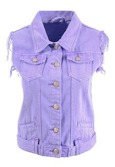Women Regular Fit Pastel Color Wash Crop Cropped Denim Jackets Waistcoats | eBay