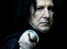 Whenever someone says they don't like Snape i feel like killing that shitty person