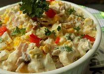Hermelínový salát s Cottage, vejci a sušenými rajčaty recept - TopRecepty. What To Cook, 4 Ingredients, Bon Appetit, Cheeseburger Chowder, Ham, Salad Recipes, Potato Salad, Food And Drink, Smoothie