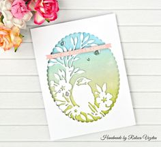 """Hi everyone! I have a new @sizzix_lifestyle card on my blog using the """"Singbird"""" thinlits die set from the previous Sizzix release ❤ This…"""