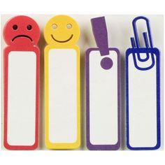 Faces Tabs Sticky Notes Little B Happy Face Sad Face Exclamation Point Paper Clip Emoji Journal Sticky Notes Planner Accessories Page Flags by InkyHotMess on Etsy #inkyhotmess #littleb #stickynotes