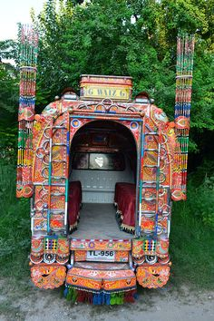 Truck art in Pakistan #Architects #Construction #Architecture  http://www.arcon.pk/portfolio/house-for-nasir-mohaiyo-din-dha-phase-5