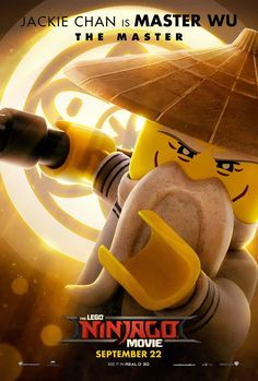 The Lego Ninjago Movie    Fandango has character posters of all your Ninjago favorites, now voiced by movie stars. Head over there to see the rest.