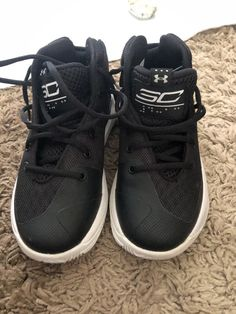 fa9f09c99 Toddler Boy Shoes Under Armour Size 12 High Tops Black #fashion #clothing # shoes