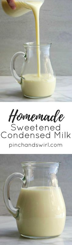 Make Sweetened Conde