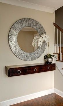 Entry floating shelf Design Ideas, Pictures, Remodel and Decor