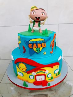 Boy Birthday, Birthday Parties, Birthday Cake, Baby Beat, Rockers, Baby Rocker, Paper Cake, Cake Decorating, Chocolate