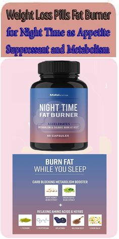 SUPPORTS FULL IMMUNE FUNCTION 24/7. Our NIGHT TIME FAT BURNER is carefully designed to keep your body working throughout the night, while assisting in a full-night's rest.* With specifically designed ingredients, this supplement will ensure you amazing results without shifting around your sleep schedule.* weight loss,fall asleep,fat burner,easy to swallow,lose weight,far so good,lost a few pounds,night time,sleep aid,fat burning,wake up feeling,like a baby,started taking,highly recommend Weight Loss Drinks, Weight Loss Smoothies, Kinobody Workout, Clamshell Exercise, Elle Fitness, Diabetic Ketoacidosis, Latissimus Dorsi, Accupuncture