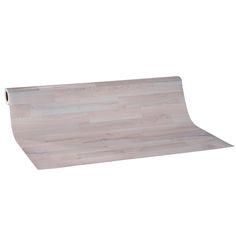 PVC-Belag GENF  - Parkett Stab Esche weiß - 4 m breit 4,50 €