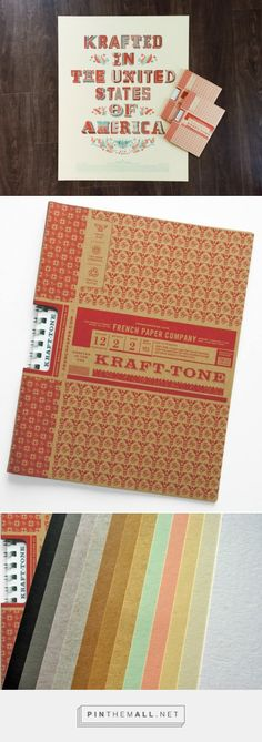 Paper Resource: Kraft-Tone by @FrenchPaper - Parse & Parcel A peek at Kraft-Tone, the new grade from French Paper.