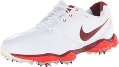 eee8bd484e Golf Shoes *** NIKE Golf Mens Lunar Control II Golf Shoe White/Challenge  Red/Team Red DM US *** Check out the picture by checking out the web link.
