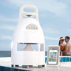 Outdoor Wireless Speaker and Dock – $150