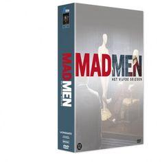"""Mad Men 5. Geen idee waarom, maar """"MAD MEN 5 is tot 29 november alleen bij de Volkskrant verkrijgbaar"""""""