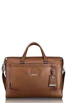 Tumi+'Astor+Regis+-+Slim'+Zip+Top+Italian+Leather+Briefcase+(16+Inch)+available+at+#Nordstrom