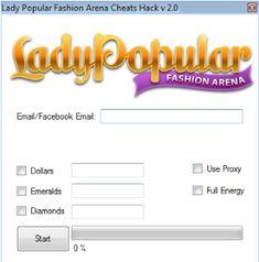 Lady Popular Fashion Arena Cheat Hack