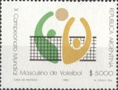 Sello: Voleibol (Argentina) Mi:AR 1593,Göt:AR 2061