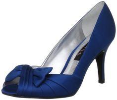 Nina Forbes Womens Size 10 Blue Peep Toe Textile Pumps Heels Shoes Nina http://smile.amazon.com/dp/B0065NRNA6/ref=cm_sw_r_pi_dp_PNeUtb03DFXQPJBN