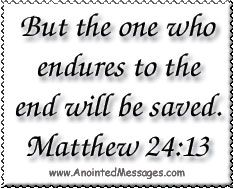 Anointed Message Tue 5/27/14 - After the Credits