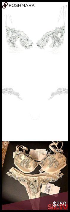 La Perla Maison push up bra and thong Beauuuuuutiful off white set I'm going … – Bloğ Baseball Bases, Underwear Organization, Wedding Underwear, Underwear Pattern, G Strings, Push Up, Off White, Bangles, Bra