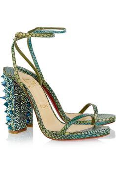 christian louboutin palace strass sandals