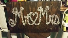 String Art Mr. And Mrs.