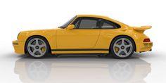 The 700 HP, 225 MPH, All-Carbon RUF CTR Isn't Built Off A Porsche