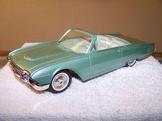 1961 Ford Thunderbird Convertible Promo Model Car