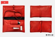 Tobacco Pouch leather made in italy by PortatabacchiRollo on Etsy, €15.00