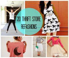 Maker Mama Craft Blog: 20 Thrift Store Refashions