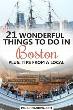 There are lots of great things to do in Boston Massachusetts. We asked a local to share her best Boston tips with us including restaurant and bar recommendation! Boston Vacation, Vacation Spots, Day Trips From Boston, Girls Vacation, Dream Vacations, Boston Massachusetts, Provincetown Massachusetts, Gloucester Massachusetts, Plymouth Massachusetts