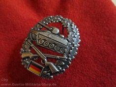 BW Barettabzeichen, Panzergrenadier, Metall / mehr Infos auf: www.Guntia-Militaria-Shop.de