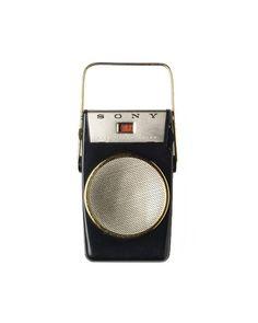 Sony corporation, Portable transistor Radio TR 610, 1958. Tokyo, Japan.