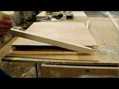 How to make a Braced Panel for Encaustic Painting by Jon Peters. Great video. He shows how to brace the panel to prevent warping.