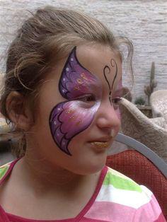 Butterfly Face Paint Design