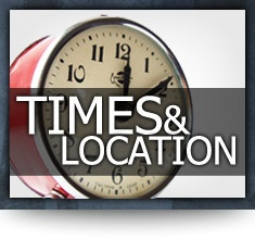 Times & Location of Amherst BIC Shortcut Design by: testamentdesign.com