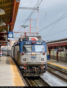 RailPictures.Net Photo: AMTK 943 Amtrak ASEA AEM-7 at Wilmington, Delaware by Matt Donnelly