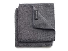 "Microfaser Tücher 2er Set ""Dark Grey"" bei Bedandroom online kaufen Chiffon, Sink Accessories, Dish Racks, Fabric Softener, Packing Light, Dark Grey, John Lewis, Ramen, Towel"