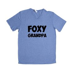 Foxy Grandpa Father Fathers Grandfather Grandparents Grandparent Children Kids Parent Parents Parenting Unisex T Shirt SGAL4 Unisex V Neck Shirt