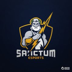 Sanctum eSports | Mascot Logo on Behance