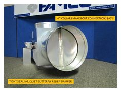 Buy Butterfly Damper From Famcoiaq.com Famco provides economizer kit for your home, to improves indoor air quality and ventilation of your building.