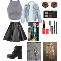 halsey inspired outfit
