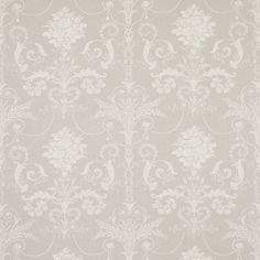 Josette Floral Linen Mix Fabric Dove Grey  With its curlicue florals inspired by 18th century French toile, our fabulous Josette fabric brings a touch of chateau elegance to the home. Suitable for curtains, blinds and soft furnishings. 51% linen, 37% cotton, 12% nylon.    Pattern Repeat61cm