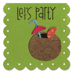 Coconut Drink Party Mini Card