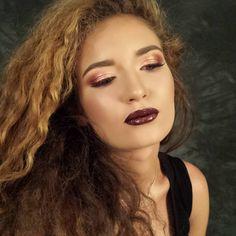 #shine #darklips #makeup #glitter https://www.facebook.com/magic.makeup.by.ac/