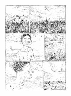 La terre des fils de Gipi (Futuropolis) décrypté par Comixtrip le site BD de référence Comic Books Art, Comic Art, Bel Art, Comic Layout, Graphic Novel Art, Ligne Claire, Cute Art Styles, Art Et Illustration, Mexican Art