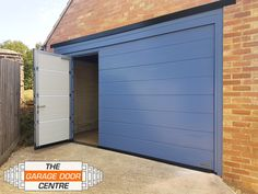 For the ultimate convenience for pedestrian and vehicle access, this Hormann LPU 42 (M-Ribbed & finished in Pigeon Blue) has been manufactured with an inset wicket door. Modern Staircase, Staircase Design, Hormann Garage Doors, Garage Insulation, Garage To Living Space, Garage Office, Garage Door Installation, Basement Remodeling, Bathroom Remodeling