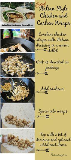 Italian Style Chicken and Cashew Wraps #SummerGoodness #ad @poshonabudget http://poshonabudget.com/2016/07/italian-style-chicken-and-cashew-wraps-summergoodness-ad.html