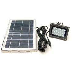 led buiten lamp op zonne energie ideaal voor parkeerplaats reclamebord verlichting gevelverlichting